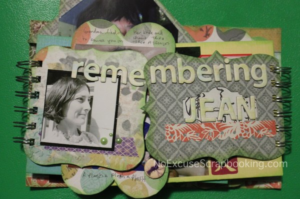 remembering mini album || noexcusescrapbooking.com