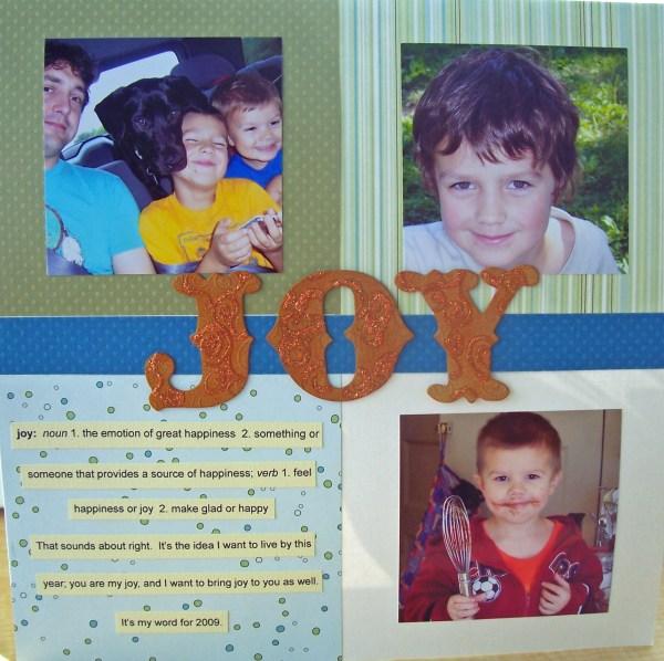 joy || noexcusescrapbooking.com