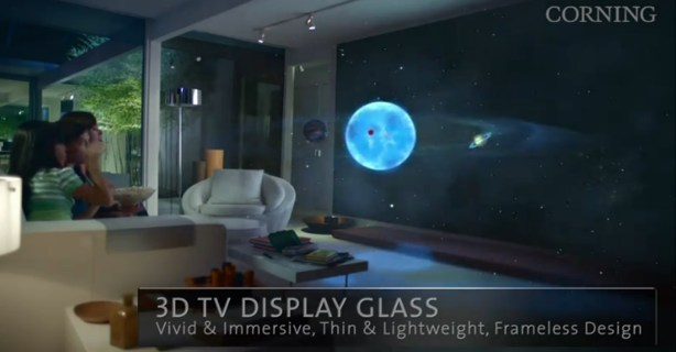 Corning tv 3d - Buzzmania