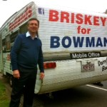 Darryl Briskey, ALP candidate for Bowman