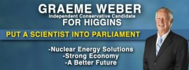 Independent candidate for Higgins Graeme Weber: @gemoo4 interview