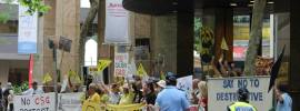 Occupy East Coast Gas Conference – Melinda Wilson reports