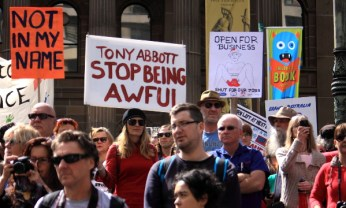 Tony Abbott stop being awful