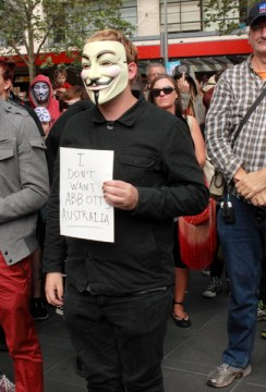 Anonymous doesn't want Abbott's Australia