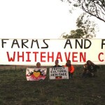Protestors at #leardblockade