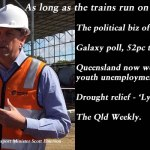 As long as the trains run on time – The Qld Weekly #qldpol: @Qldaah