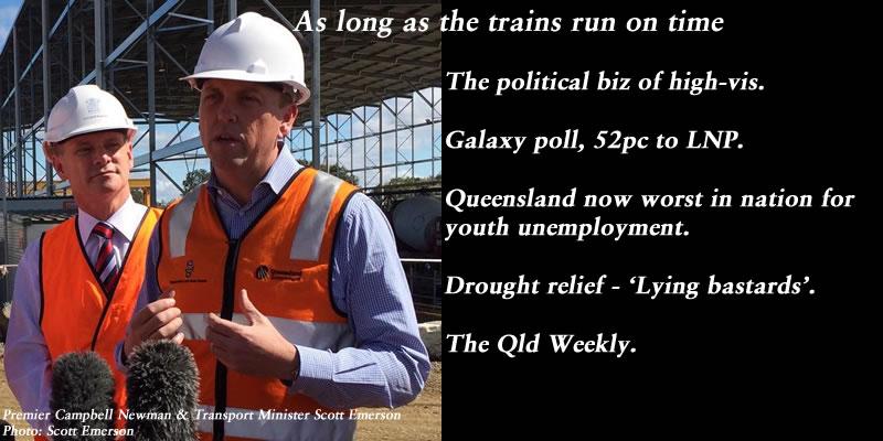 As long as the trains run on time – The Qld Weekly #qldpol: @Qldaah