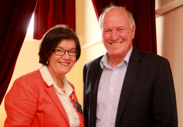 Independent Member of Indi Cathy McGowan MP and Former Independent Member for New England Tony Windsor. Photo: Wayne Jansson