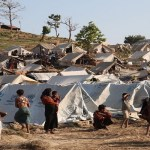 Refugee camp, Myanmar