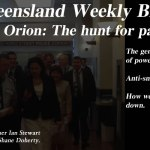 Taskforce Orion – The Queensland Weekly Blogazine: @Qldaah #qldpol