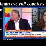 Van Badham eye roll counters Latham landmine – @Qldaah #feminism