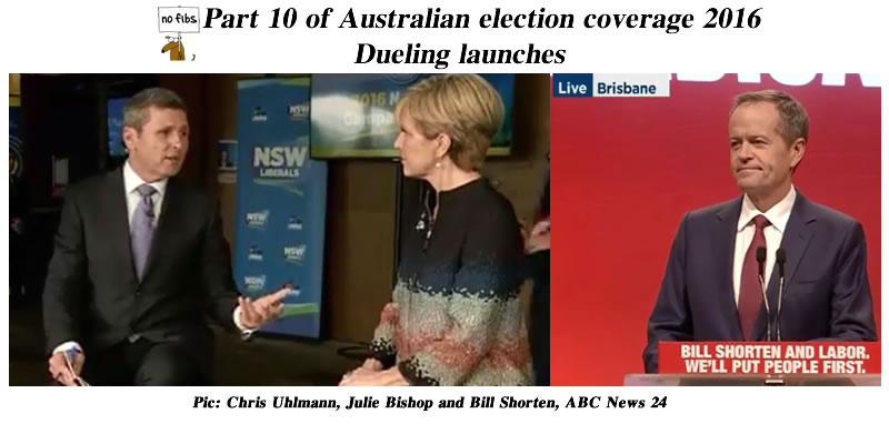 Part 10 of Australian election coverage 2016.