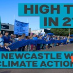 200 people in Newcastle mark Paris Agreement entry into force on November 4, 2016