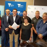 Lead photo: by Wendy Farmer, Voices of the Valley. Premier Dan Andrews in Morwell announcing the worker transition package