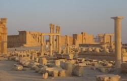 Palmyra at sunset