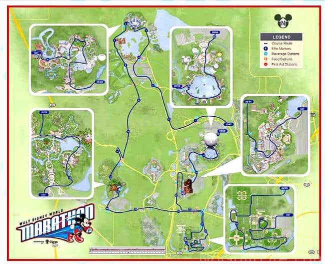 2016 Walt Disney World Marathon Corrals, Event Guide & More! - My No ...