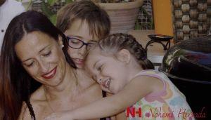Nohemi Hervada familia