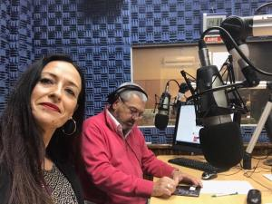 Nohemí Hervada en la radio