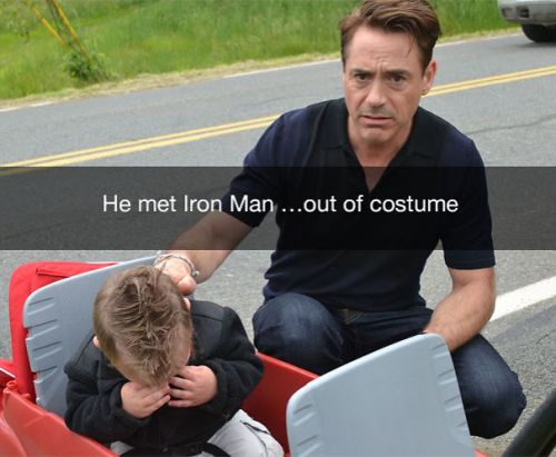 met Iron man