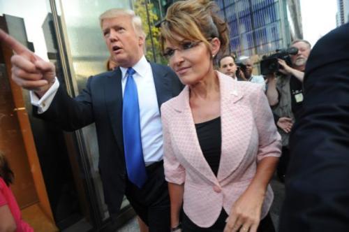 Donald Trump Sarah Palin
