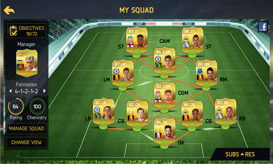 FIFA 15 Ultimate Team 1