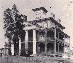 The Shipley-Lydecker House, the true inspiration for Disneyland's Haunted Mansion. (https://longforgottenhauntedmansion.blogspot.com/)