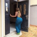 "See This Kenyan Lady Claiming To Have The Biggest ""Backyard"" In Africa (Photos)"