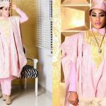Toyin Lawani Dazzles in Pink Outfit