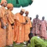 The Alaafin of Oyo, Adeyemi III Stepped Out With Wives At An Event In Oyo State