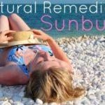 How to Get Rid of Sunburn? (Natural Sunburn Remedies)