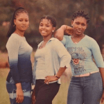 Actress Ebube Nwagbo shares a 2000/2001 throwback photo of herself with friends