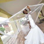 Photos from the wedding of ex-Miss Nollywood, Gwendolyn Okutele & Malcolm Tagbarha