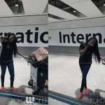 Funke Akindele just touched down in London for iROKO world tour and screening