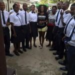 Photo: Students of Bethesda Home for The Blind visits Annie Idibia