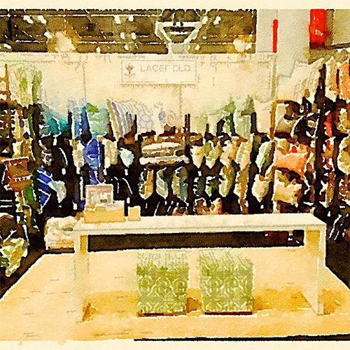 Waterlogue Image by Lacefield Designs on Instagram