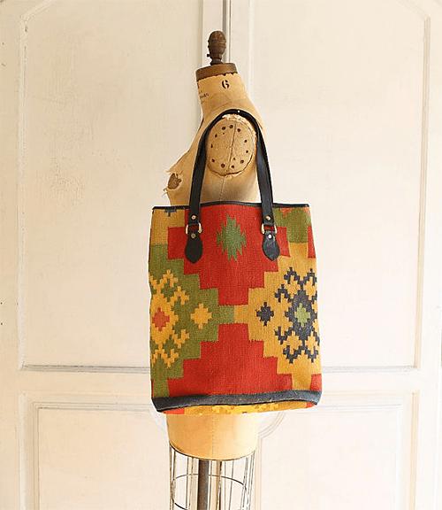 Carpet Bag via Etsy Shop Bohemiennes