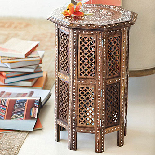 Ballard Designs Marrakech Side Table