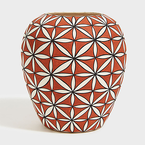 J Torivio Acoma Pot at DARA Artisans
