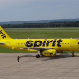 Spirit Airlines 50% off One Day Sale