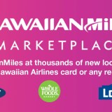Earn Hawaiian miles at Old Navy, Lowes, and Whole Foods