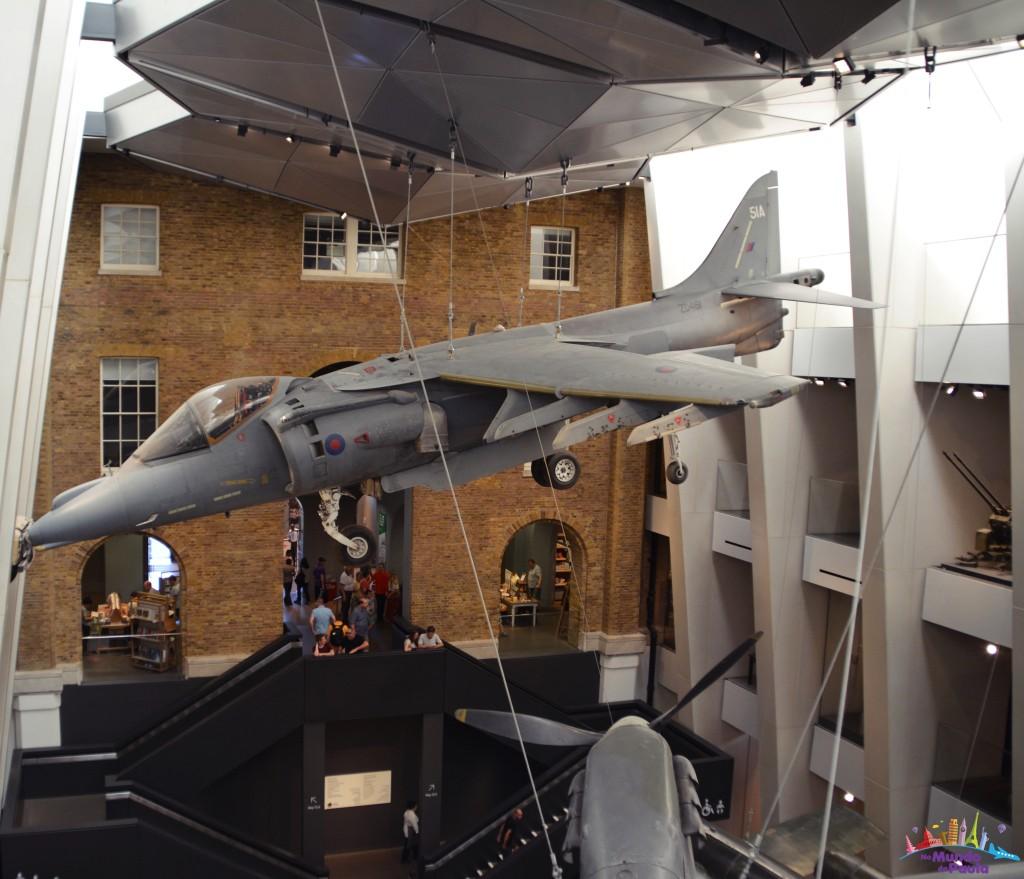 Imperial war museum museu da guerra