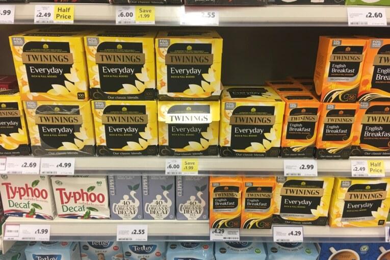 O que Comprar no Supermercado em Londres