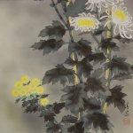 0114 Chrysanthemum Painting / Kiyoyasu Morishima 006