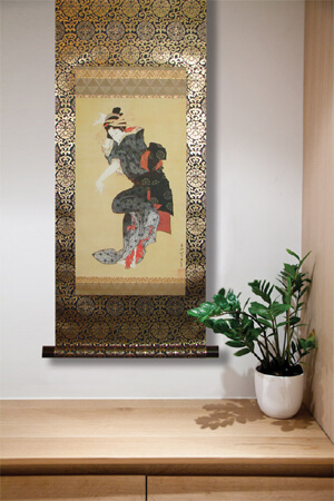Ukiyo-e Kakejiku display 005