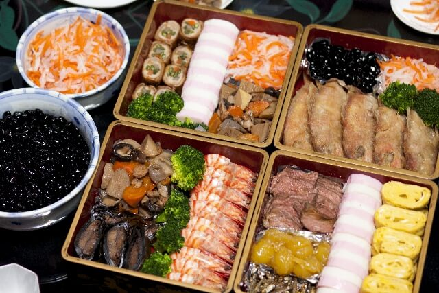 """""""Osechi"""" Dish for New Year Picture"""