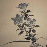 0108 Bellflower Painting & Calligraphy / Katsunobu Kawahito & Kakushou Kametani 004