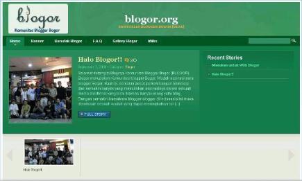 Blogor Situs