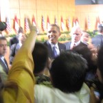 """Pulang kampung, nih"", kata #ObamadiRI"