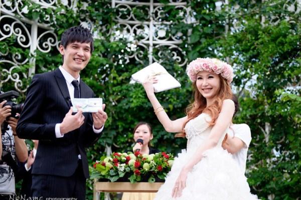『婚禮紀錄』小希 & 小桃仙女 – 台中中僑花園飯店-婚禮