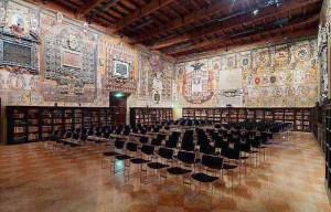 Fotografia della Sala dello Stabat Mater